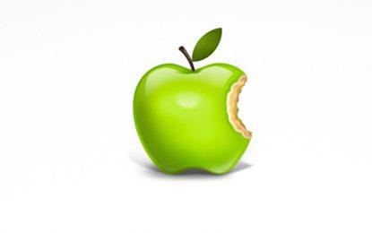 Apple е най-зелената ябълка