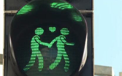 Виена се готви за Евровизия с гей светофари