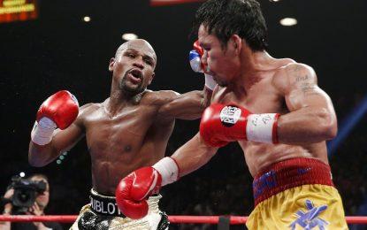 Мейуедър победи Пакиао в 12-рундов бой за историята