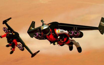 Да яздиш ракетен двигател във въздуха
