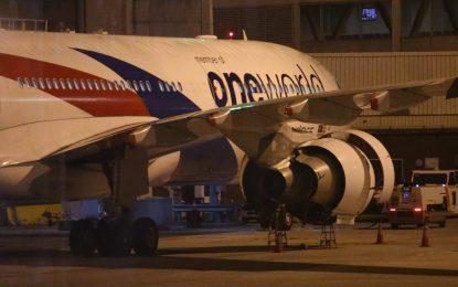 Самолет на Малайзийските авиолинии кацна аварийно в Мелбърн