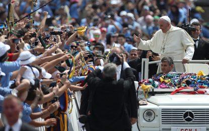 Папата апелира да се погрижим за климата