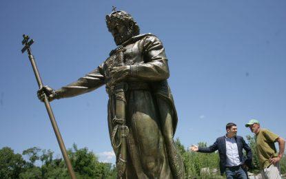 На 8 юни и София с паметник на цар Самуил