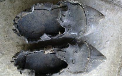 В града на винкело са носили железни опинци