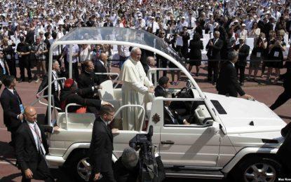 """Папа Франциск призова за мир в """"Йерусалима на Европа"""""""
