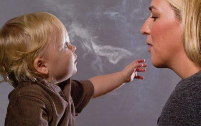 Родителите пушачи имат дебели деца