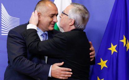 Юнкер обеща на Борисов европейска подкрепа по българските граници