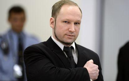 Масовият убиец Брайвик се записа в Университета на Осло