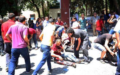 Кървав атентат в Турция до границата със Сирия