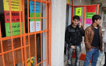 Половината мигранти в Харманли са здрави и свободни