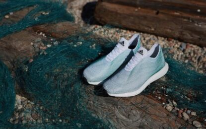 Adidas направи маратонки от океански боклук