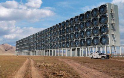 Уникална система смуче CO2 от въздуха и прави дизел