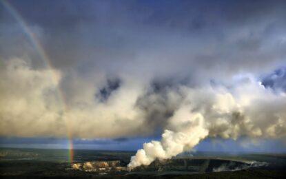 Хавай се включва във вулканите