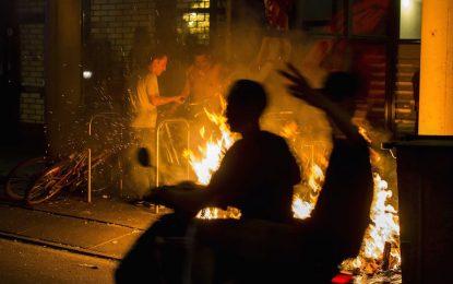 Бунтове в Хага след смърт на арестант