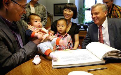 Китай официално разрешава второто дете