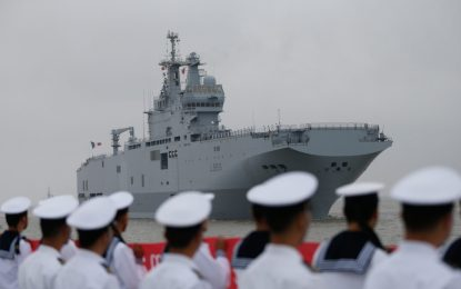 """Франция плаща на Русия €1.16 милиарда неустойки за """"Мистрал"""""""