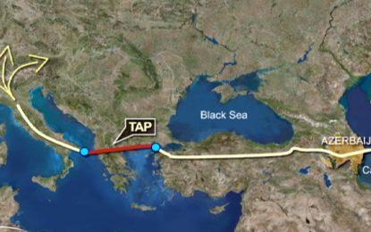 Газопроводът TAP вече може да започне