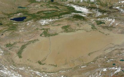 Учени в Китай откриха огромен океан под пустиня