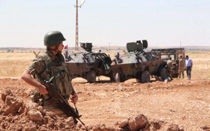 Анкара даде на заден за сухопътна операция в Сирия