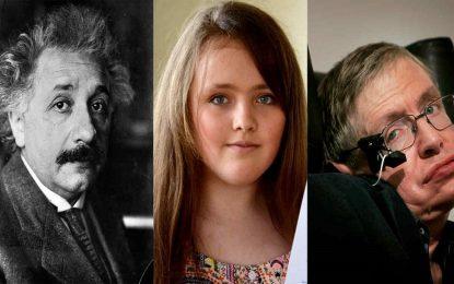 Тийнейджърка е по-умна от Айнщайн и Хокинг