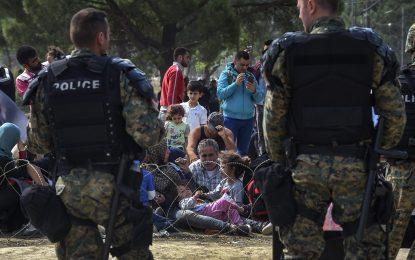И Македония подсилва границата си срещу мигранти