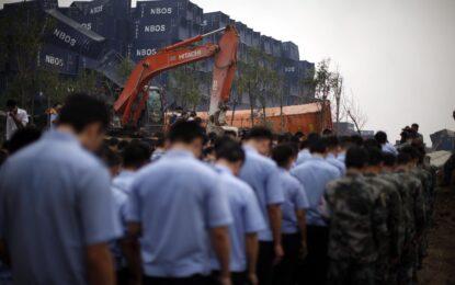 Избухналият склад в Тиендзин е бил извън закона