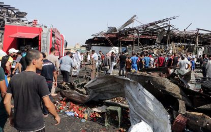 """""""Ислямска държава"""" изпратила камиона-бомба в Багдад"""