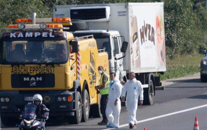 Трима българи арестувани заради камиона с мъртвите бежанци