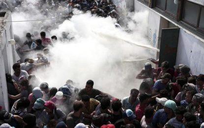 Бежански размирици на остров Кос