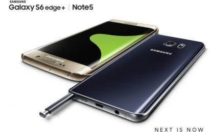Samsung представи Galaxy S6 Edge+ и Note 5