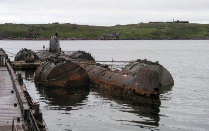 СССР държи атомна бомба на дъното на Арктика