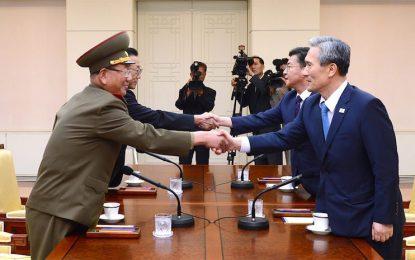 Северна и Южна Корея преговарят след стрелбата