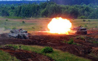 Русия и НАТО тренират за война