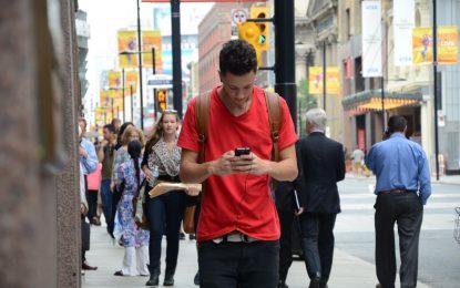 Смартфоните променят походката ни