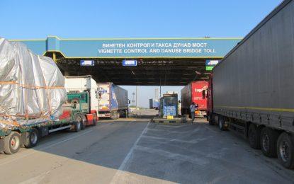 15 км опашки на Дунав мост заради ремонт