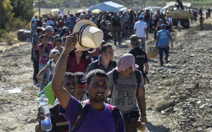 7000 бежанци прекосиха Македония и вече са в Сърбия
