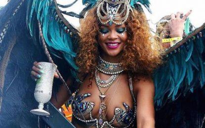 Риана, кралицата на карибския карнавал