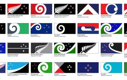 Нова Зеландия се еманципира от Австралия с референдум за нов флаг