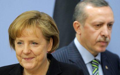 Меркел и Ердоган обединяват сили срещу трафика на имигранти