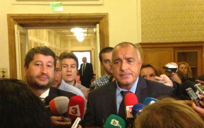 Бойко Борисов се надява на 180 гласа за промените в Конституцията