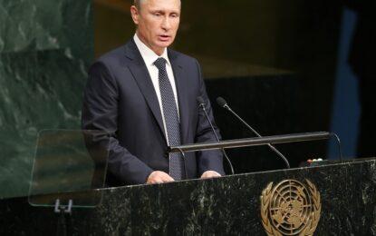 Путин зове за коалиция в подкрепа на Асад