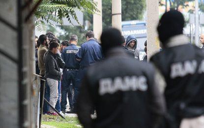 С патрули и камери следят бежанците в София