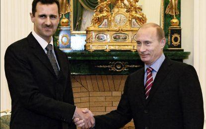 Путин има и план Б за Сирия – сваляне на Асад