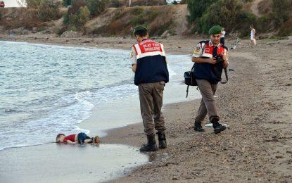 #KiyiyaVuranInsanlik. Смъртта ни погледна с лице на дете
