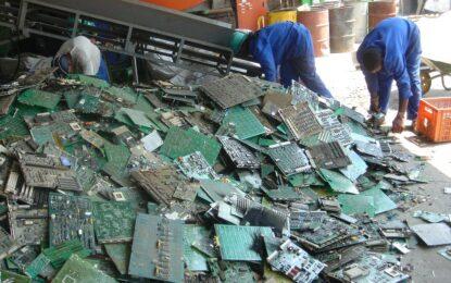 Европа рециклира едва 1/3 от е-боклука си