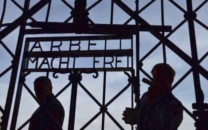 Германия приюти бежанци в бивш концентрационен лагер