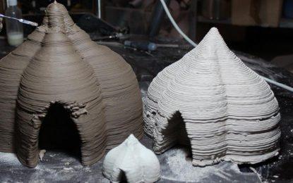Big Delta принтира къщи от глина и цимент