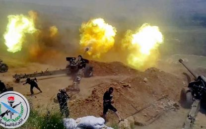 Режимът на Асад вече стреля с новите руски оръжия