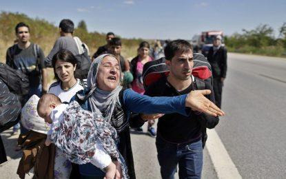 Над 200 бежанци отблъснати от български граничари