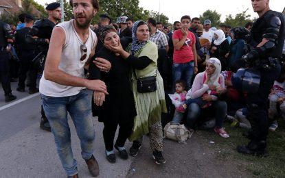 Хърватия затвори границата си, Словения връща бежанците